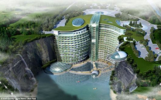 A Five Star Cave Hotel In China