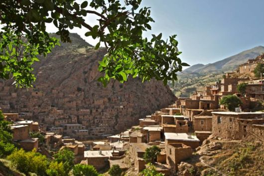 Amazing Stair Stepped Villages In Iran