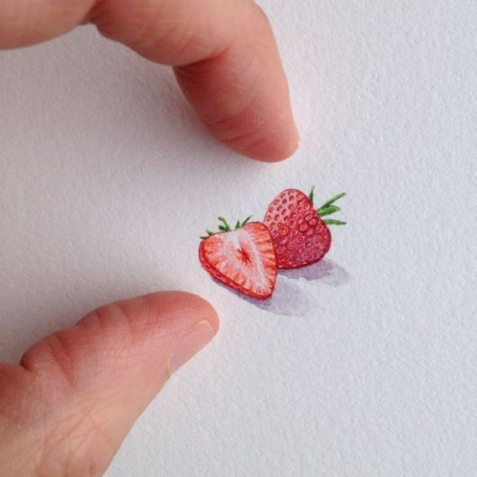 Adorable Miniature Paintings Of Everyday Items