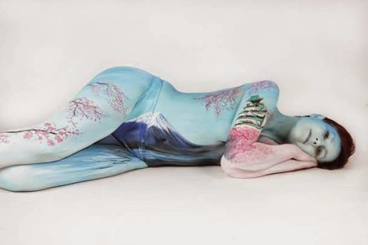 Amazing Body Painting Art By Gesine Marwedel