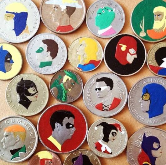 Coins Transformed Creatively