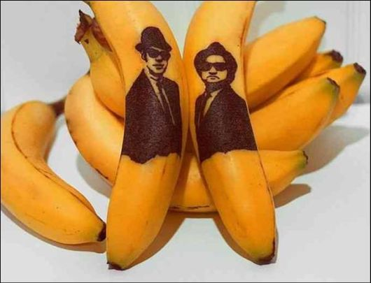 The Unique Banana Artwork