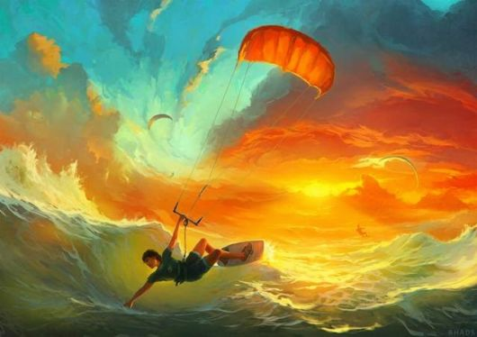 Whimsical Digital Illustrations By Artem Cheboha