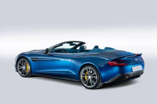The Aston Martin Vanquish Volante