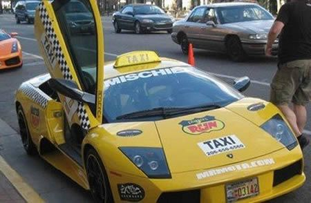 Super Taxis Around The World