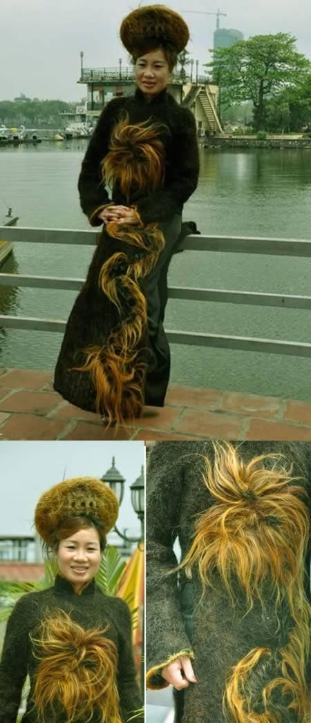 Craziest Stuff Created With Hair