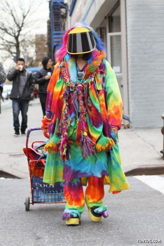 Unusual Fashion On The Streets