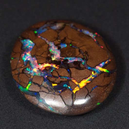 Spectacular Gemstone With A Colourful Universe Trapped Inside