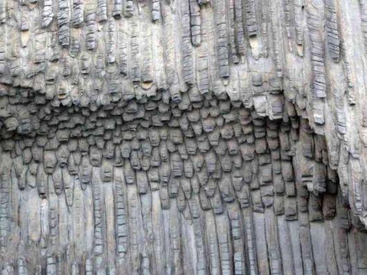 Beautiful Basalt Rock Formations In Spain
