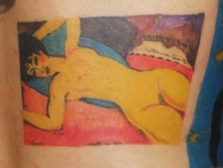 Most Amazing Painting Tattoos