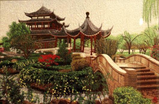 Amazing Chinese Silk Embroidery
