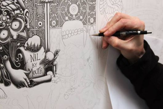 Detailed Pencil Drawings By Joe Fenton