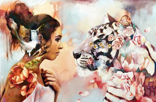 Super Talented 16-Year-Old Artist Turns Her Wildest Dreams Into Paintings