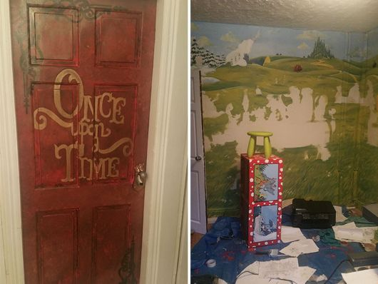 Caring Father Made A Fairytale-Themed Room For Her Loving Daughter