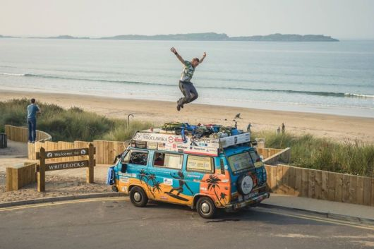 A Couple Visited Over 50 Countries By A Van Spending Only 8 Dollars A Day