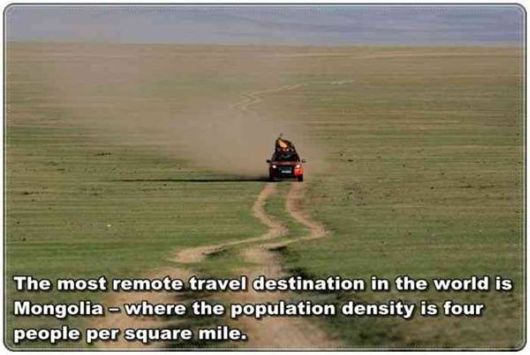 Some Interesting Travel Facts