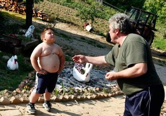 A Six Year Old Magnet Boy
