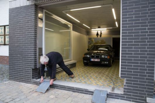 Old Man Refused Garage Permit From Council Finds A Genius Solution