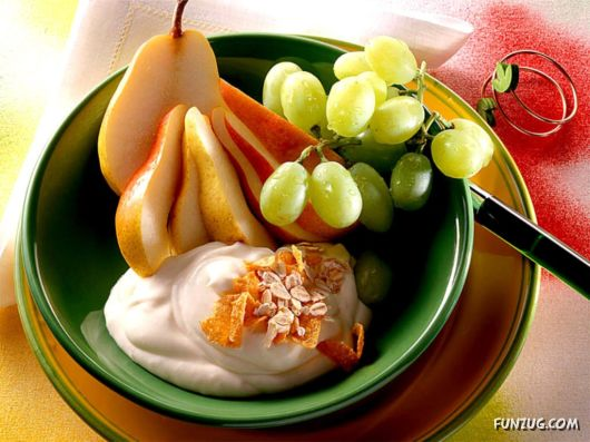 Click to Enlarge - Mouth Watering Food Wallpapers