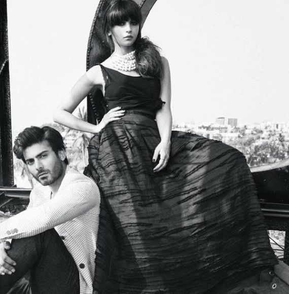 Alia Bhatt And Fawad Khan Dazzles On Filmfare Magazine