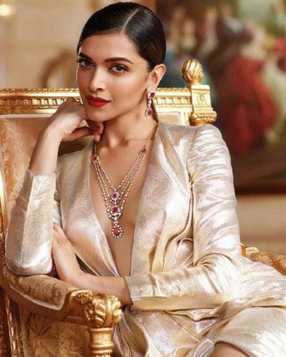 Deepika Padukone Presents Queen Of Hearts Collection From Tanishq
