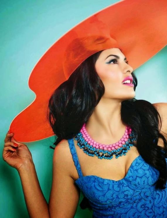 Jacqueline Fernandez Shoots For Verve India