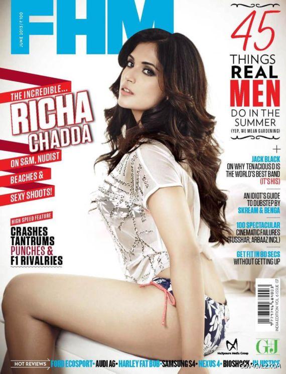 Richa Chadda Stunning Photoshoot Images