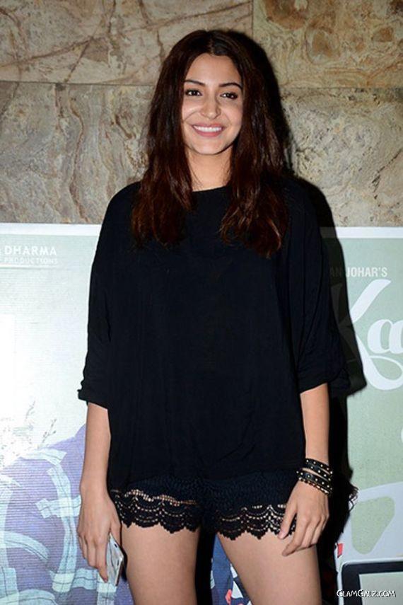 Anushka Sharma At Special Screening Of Kapoor And Sons