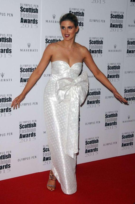 Ashley James At Scottish Fashion Awards 2015