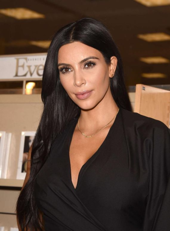 Kim Kardashian For Selfish Book Signing In LA