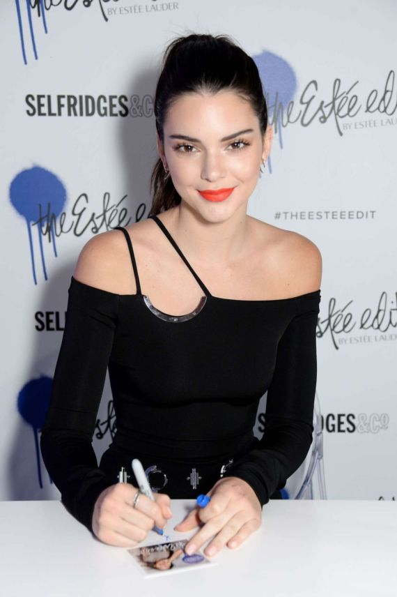 Kendall Jenner At Launch Of The Estee Edit In London