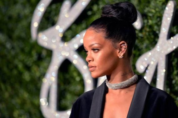 Rihanna At British Fashion Awards In London