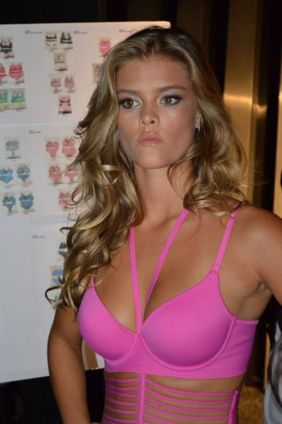 Nina Agdal At Leonisa Fashion Show In Colombia