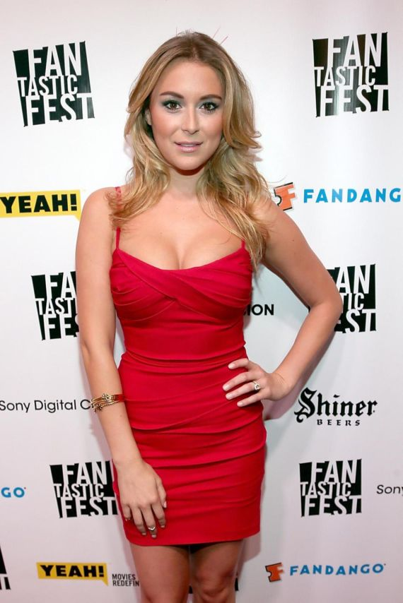 Awesomely Gorgeous Alexa Vega In Red