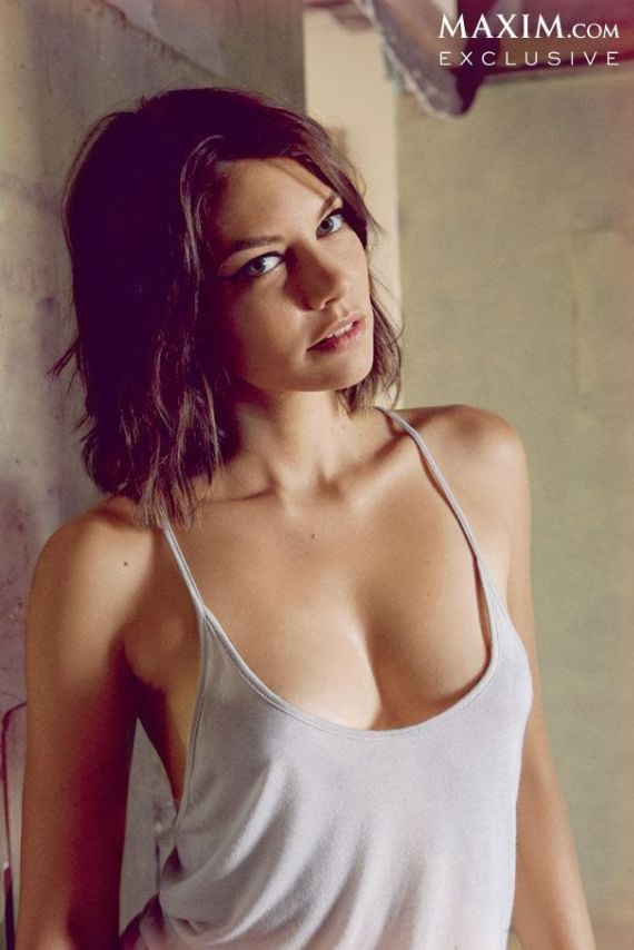 Lauren Cohan For Maxim USA Magazine