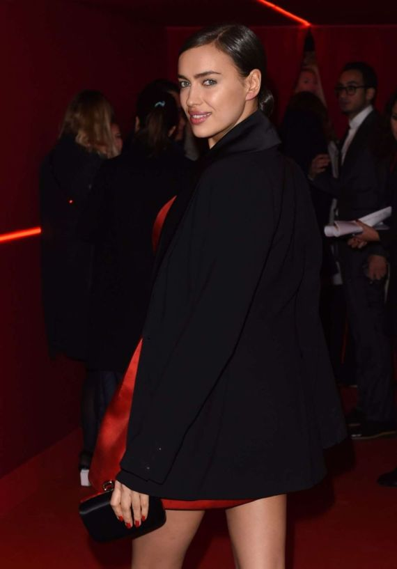 Irina Shayk At LOreal Red Obsession Party 2016