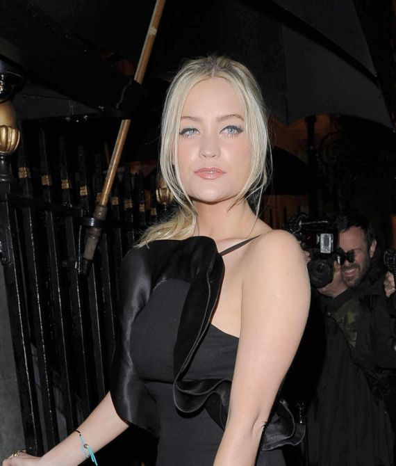 Charming Laura Whitmore At Marie Claire 25th B'Day Party