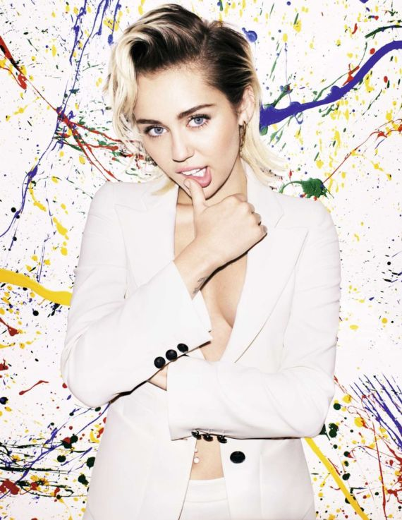 Miley Cyrus Is ELLE's October Cover Star