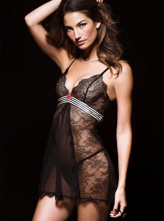 Lily Aldridge For Victorias Secret Photoshoot